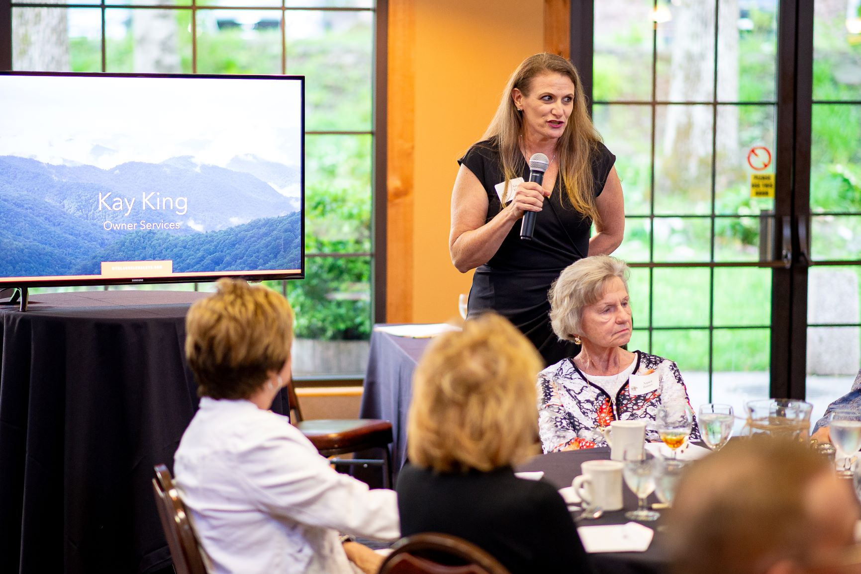 Kay King Presents at Our Annual Homeowners Meeting April 2019