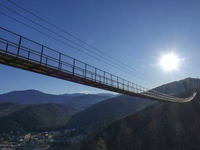 America's longest suspension bridge