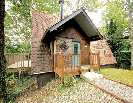 A-Frame House in Gatlinburg